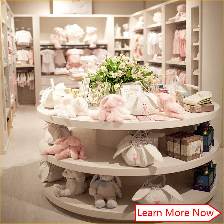 Customized high quality baby kids clothes store interior design 협력 업체