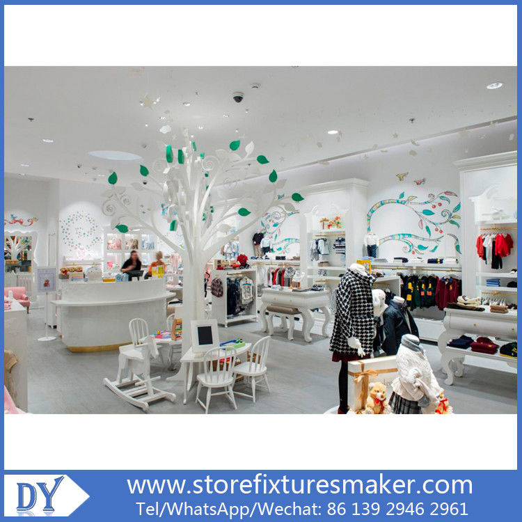Matte white lacquer kids clothing stores - Popular Best Kids Clothing Stores/fashion kids store 협력 업체