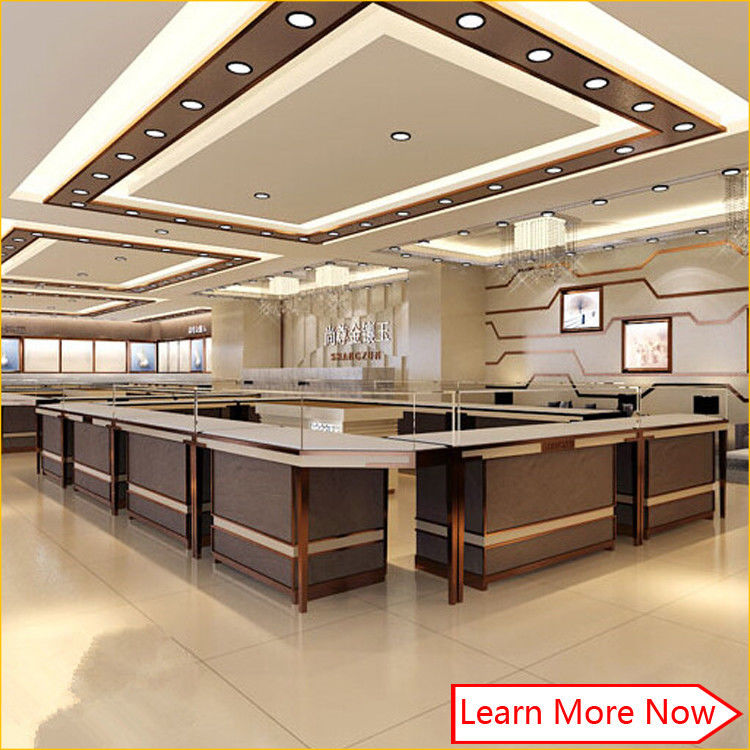 Elegant 3d rendering customized glass jewellery shop counter design 협력 업체