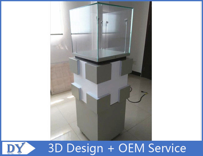 Manufacturer supplier modern simple style glass display cabinets with custom size 협력 업체